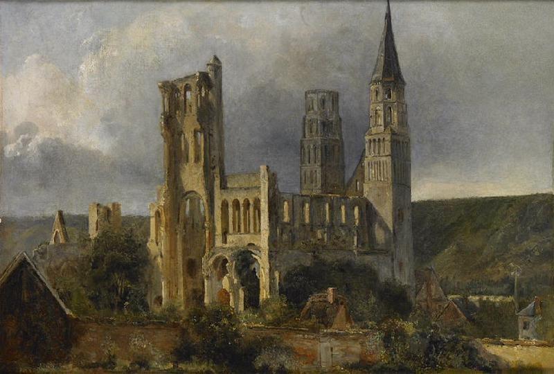 Ruines de l'abbaye de Jumièges
