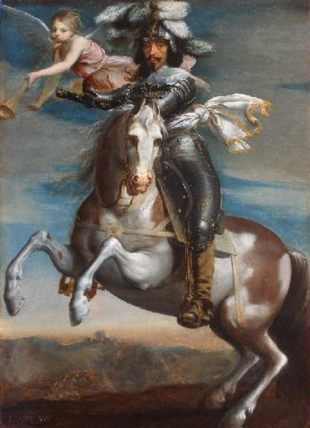 Portrait équestre de Louis XIII_0
