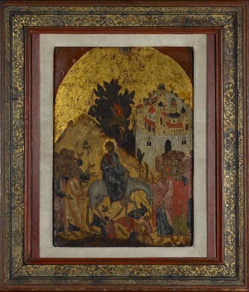 L'entrée du Christ à Jérusalem_0