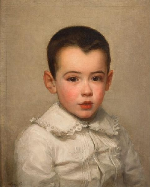 Portrait de Pierre Bracquemond enfant_0
