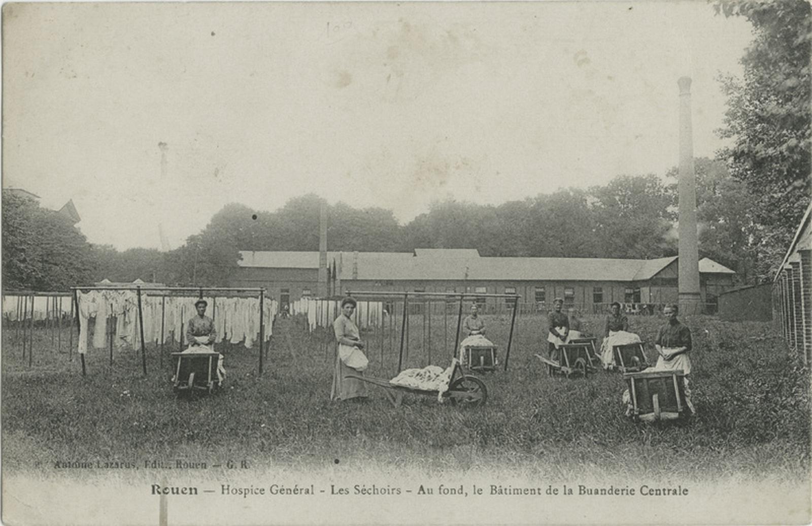 Hospice Général de Rouen : les séchoirs_0