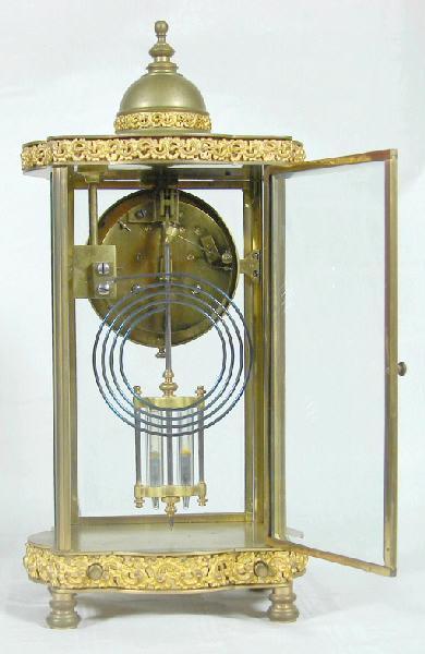 VILLON Albert (horloger) : pendule à poser