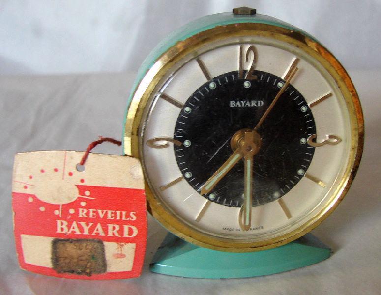 BAYARD, REVEILS BAYARD (usine) : réveil (à mouvement mécanique)