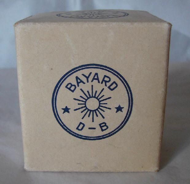 BAYARD, SOCIETE DES ANCIENS ETABLISSEMENTS DUVERDREY & BLOQUEL (usine) : réveil (à mouvement mécanique), boîte