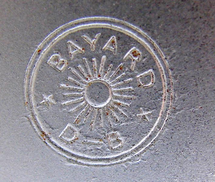 BAYARD, SOCIETE DES ANCIENS ETABLISSEMENTS DUVERDREY & BLOQUEL (usine) : réveil (à mouvement mécanique)