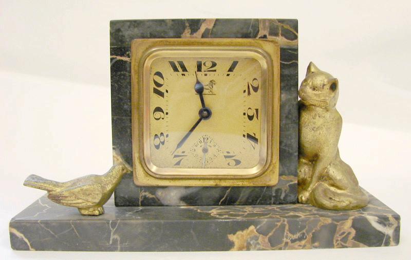 BAYARD, SOCIETE DES ANCIENS ETABLISSEMENTS DUVERDREY & BLOQUEL (usine) : Le chat et l'oiseau