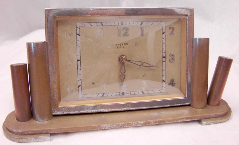 BAYARD, SOCIETE DES ANCIENS ETABLISSEMENTS DUVERDREY & BLOQUEL (usine) : pendulette (à mouvement mécanique)