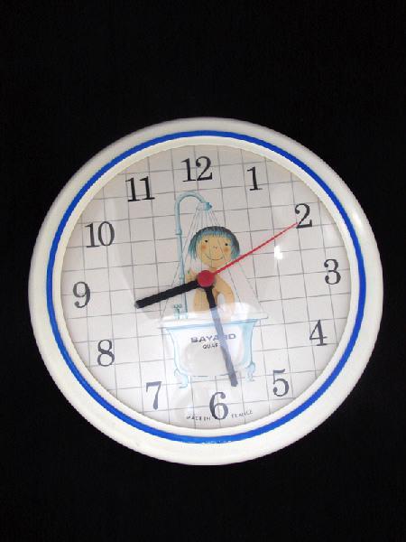 BAYARD, NOUVELLE SOCIETE DES REVEILS BAYARD (usine) : pendule (à mouvement électrique, d'applique)
