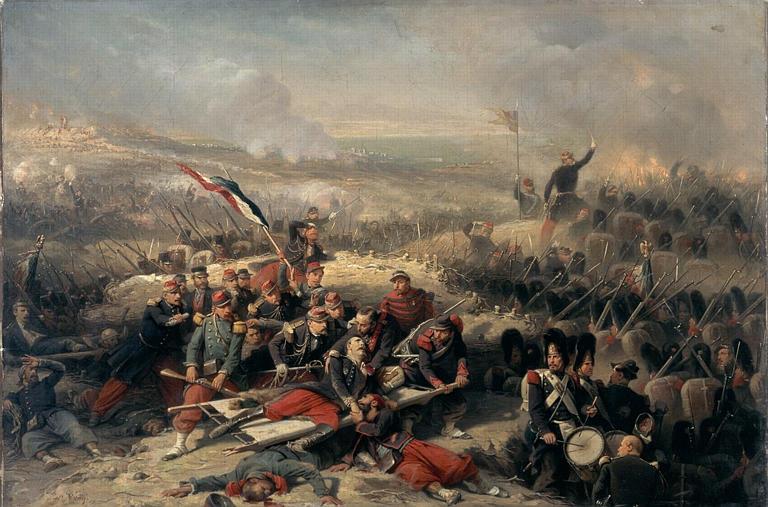 La Courtine de Malakoff ; 8 septembre 1855 (Campagne de Crimée)