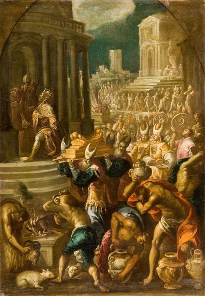 Transport de l'arche au temple de Jérusalem_0