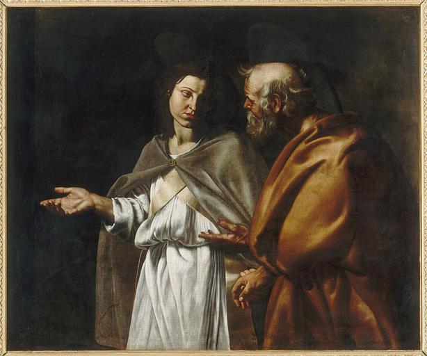 Saint Pierre délivré de prison par un ange_0