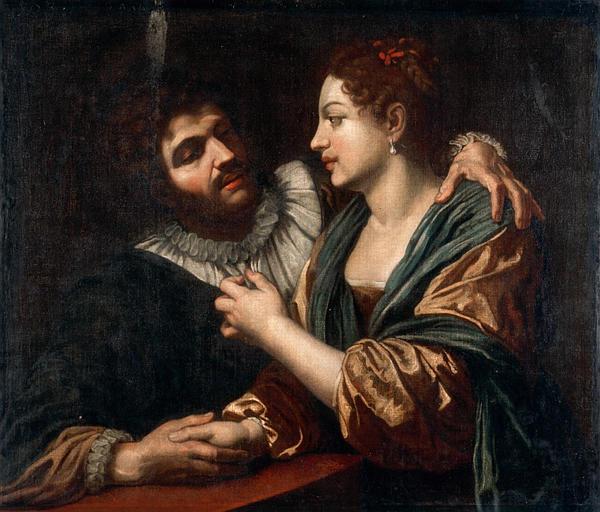 Un jeune homme et sa maîtresse