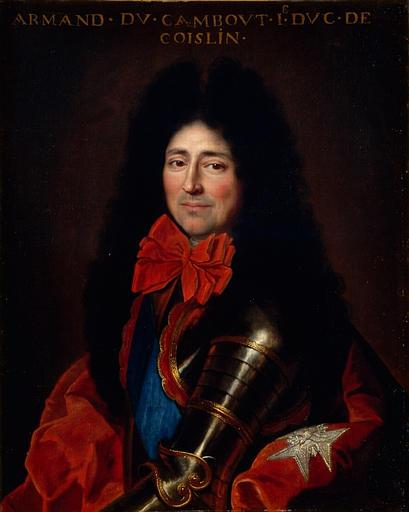 Portrait d'Armand de Cambout, duc de Coisllin_0