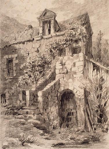 Vieille maison à Ingrandes