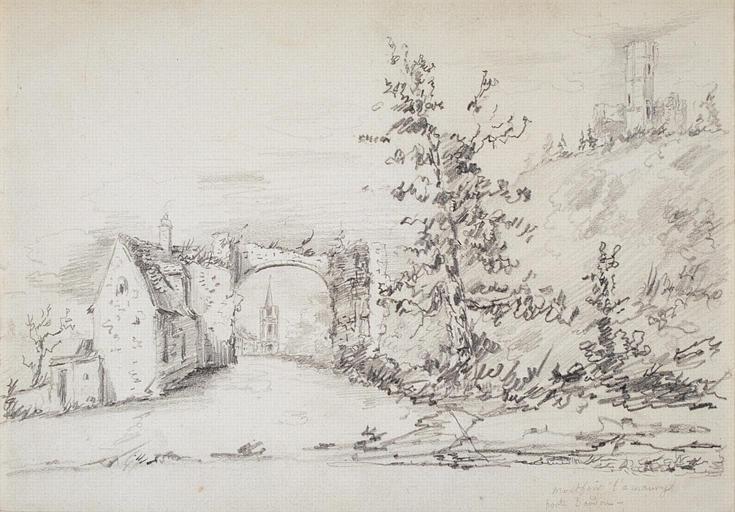 Montfort l'Amaury : la porte_0