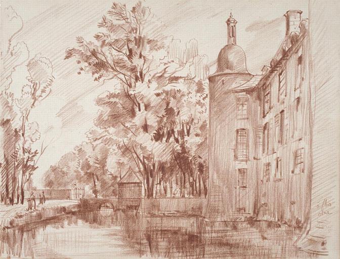 Château de Flers, Orne : détail_0