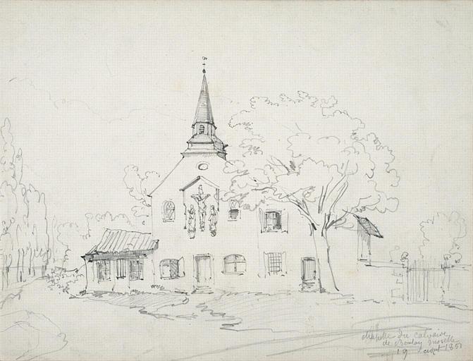 Chapelle du calvaire de Boulay (Moselle), 1851