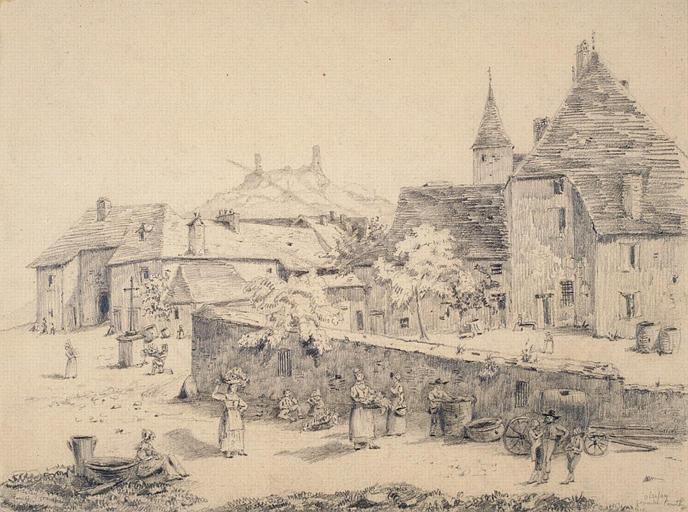 Village d'Oizelay (Franche-Comté)_0