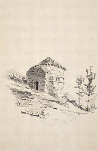 Chapelle romane près de Murols_0