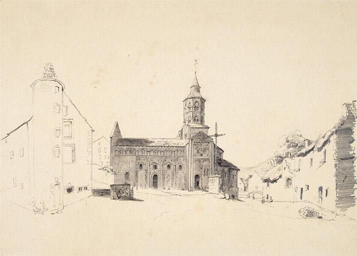 Eglise près de Mont-Dore