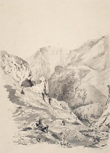 La Gorge d'Enfer au Mont-Dore_0
