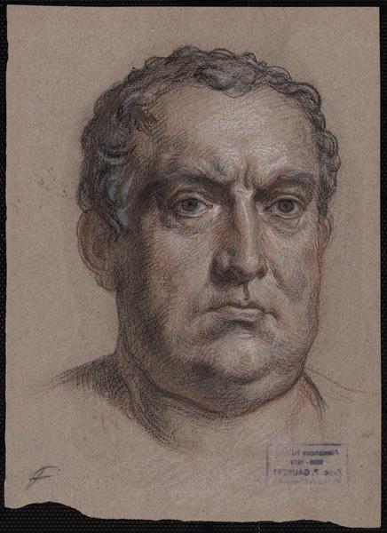 HESSE Alexandre (dessinateur) : Etude pour le Général Astasius