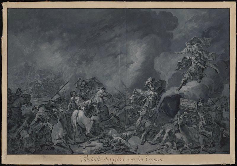 Bataille des Grecs et des Troyens_0