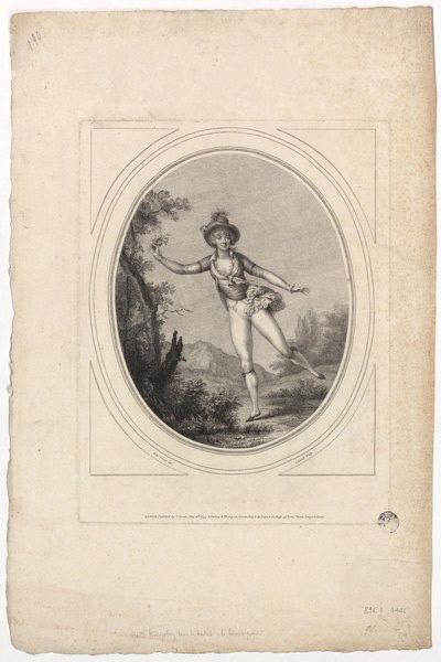 Mlle Hilligsberg dans le ballet le 'Jaloux Puni'_0