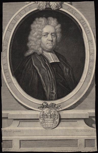 RUSSEL Théodore (d'après), VERTUE George (graveur) : Johannes Harris