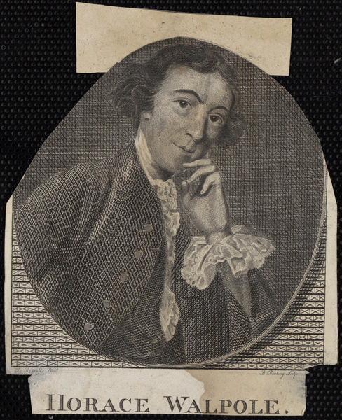 REYNOLDS Joshua (d'après, peintre), RAIDING B (graveur) : Horace Walpole