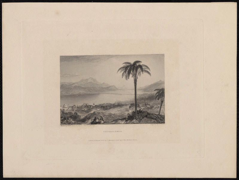 TURNER Joseph Mallord William (d'après), FINDEN Edward (éditeur), MURRAY John (éditeur) : Cephalonia