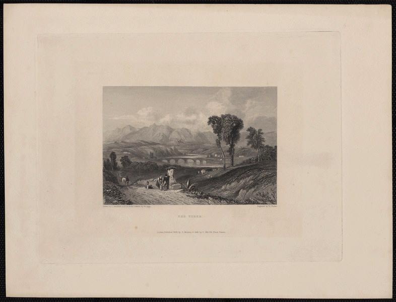STANFIELD Clarkson (d'après), FINDEN Edward (exécutant), MURRAY John (exécutant) : The Tiber