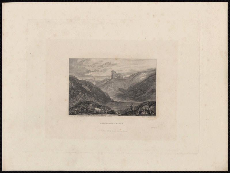 TURNER Joseph Mallord William (d'après), COOKE William Bernard (exécutant) : Crichtoun Castle