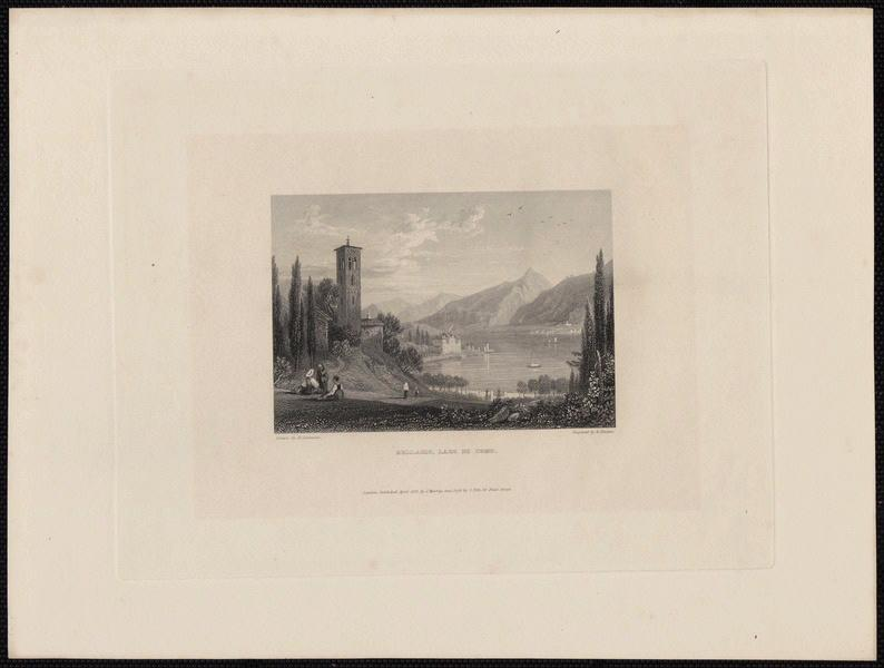 GASTINEAU Henry (d'après), FINDEN Edward (exécutant), MURRAY John (exécutant) : Bellagio Lagio di como
