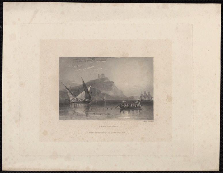 PURSER William (d'après), FINDEN Edward (exécutant), MURRAY John (exécutant) : Cape Colonna
