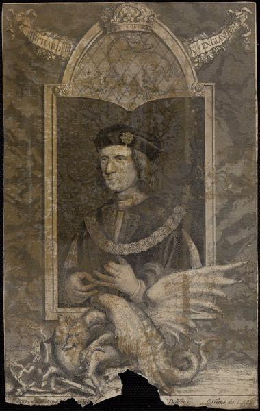 VERTUE George (graveur) : Richard III K. of England