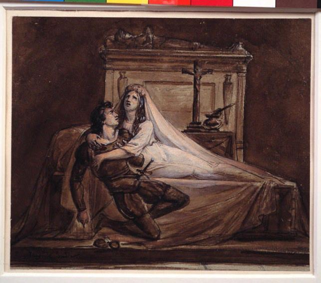 Scène de Roméo et Juliette de Shakespeare (une)_0