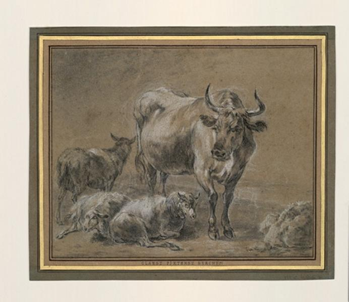Vache et moutons_0