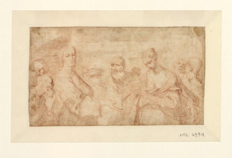 Jésus et la femme adultère ; Le Christ et la femme adultère (autre titre)