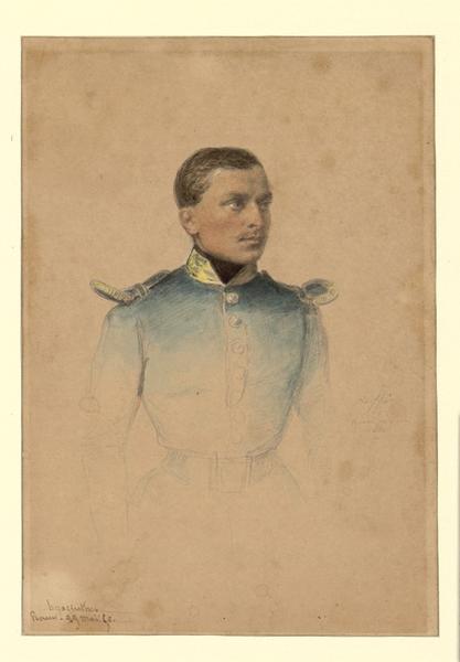 RAFFET Denis Auguste Marie, RAFFET Auguste (dit) : Portrait de Hyacinthe