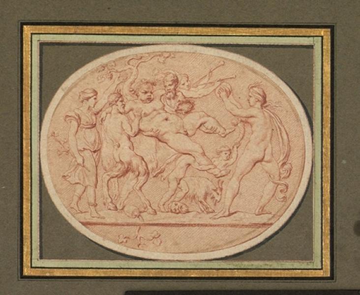 BOUCHARDON Edme (dessinateur, sculpteur) : Triomphe de Silène, Marche de Silène (ancien titre)