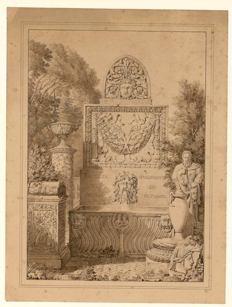 Fragments antiques (titre dans le cahier d'inventaire) ; Réunion de fragments_0