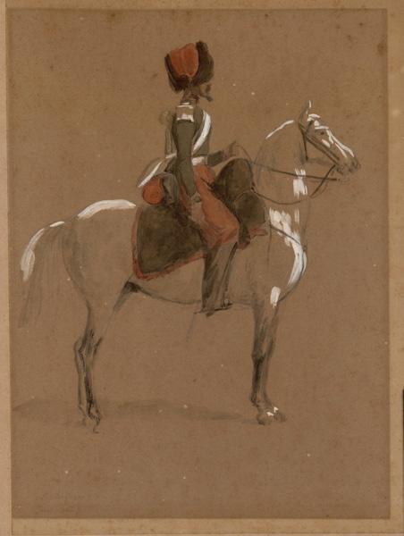 Trompette du 1er régiment de chasseurs