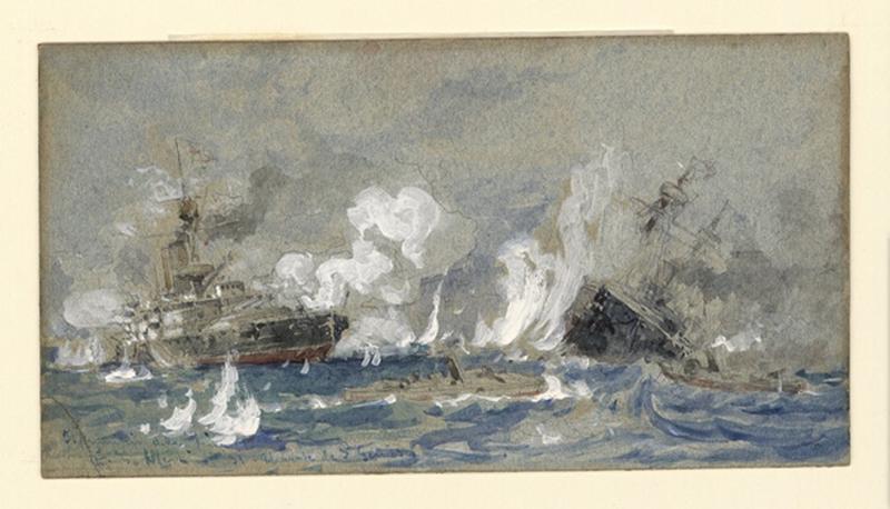 Il principio della fine, combat naval ; Marine_0