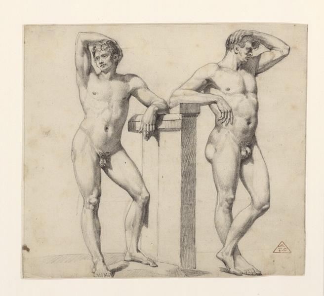 Deux académies d'homme