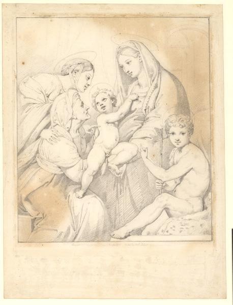 La Sainte Famille (d'après Raphaël)_0