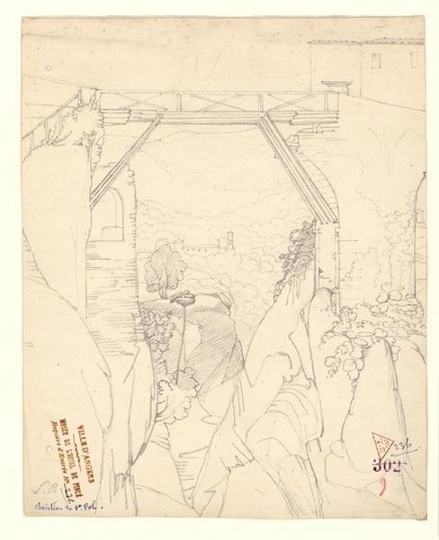 Passerelle sur un viaduc détruit_0