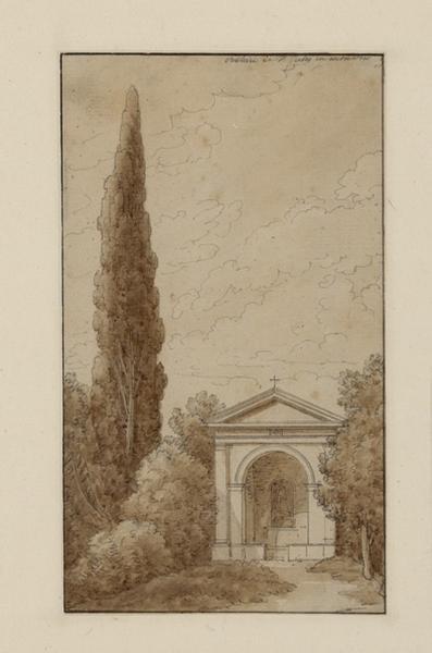 Rome, vue prise de la Villa Borghèse (trois dessins)_0