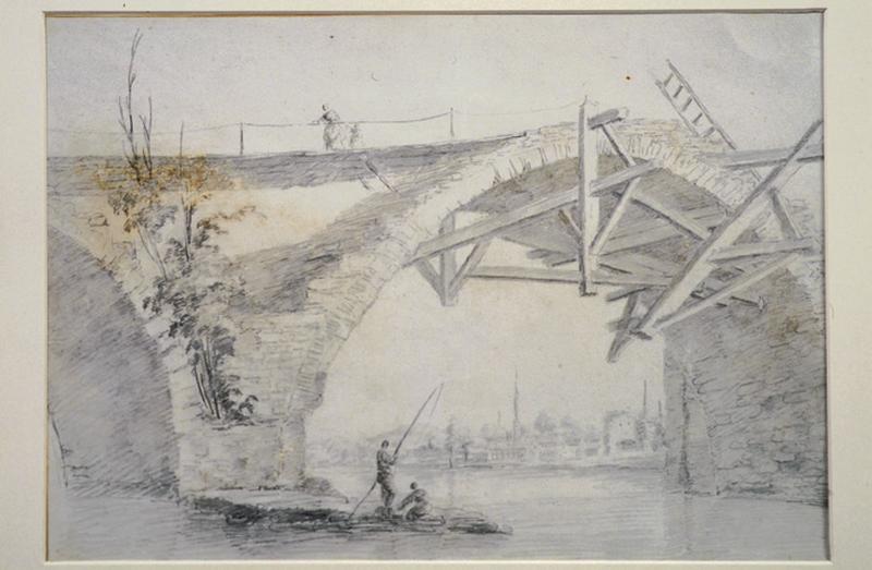 Arche du vieux pont de Tours_0