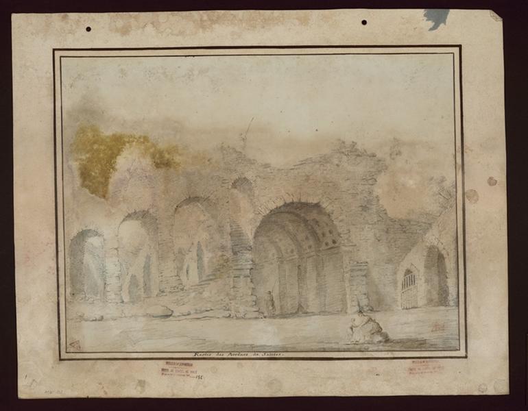 TURPIN DE CRISSE Lancelot Henri Roland, TURPIN DE CRISSE Père : Restes des arènes de Saintes